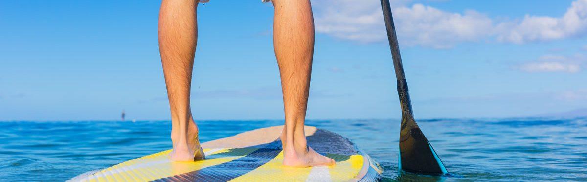 Stand Up Paddling: Workout für den ganzen Körper